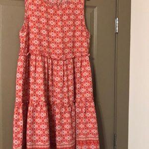 Max Studio orange patterned women's dress